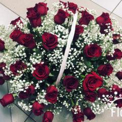 Роза, гипсофил
